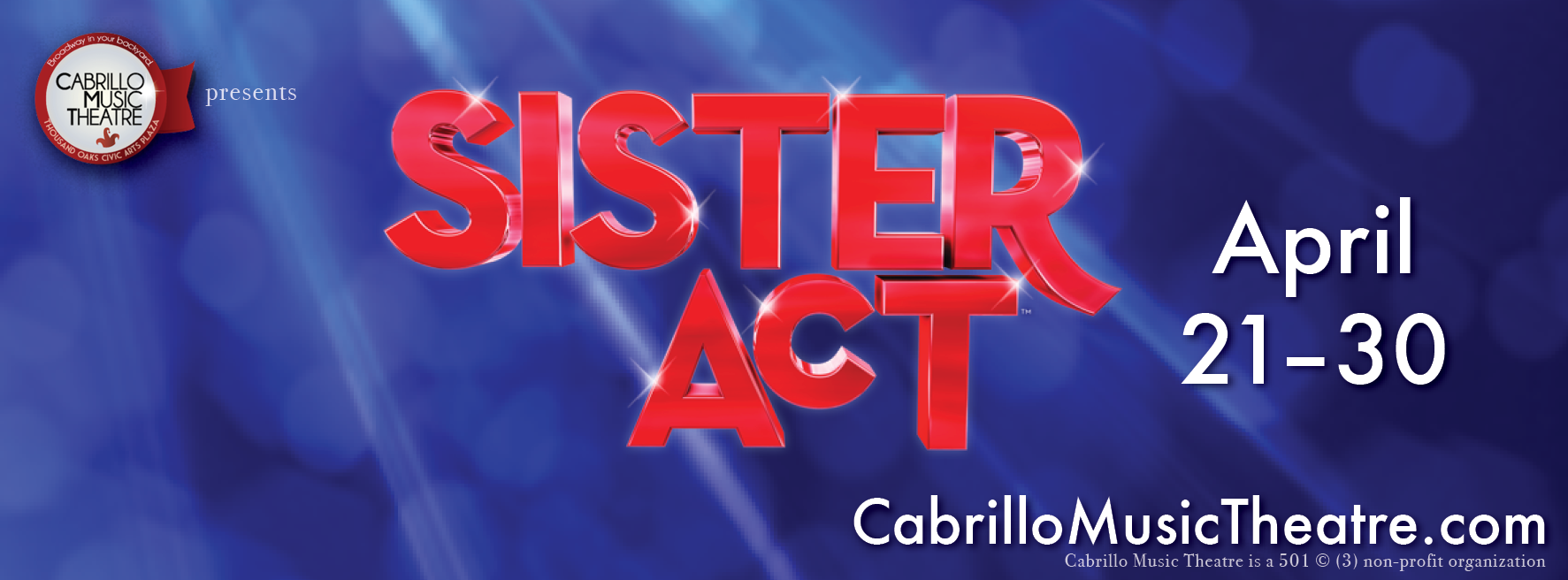 Sister Act Facebook Cover Image