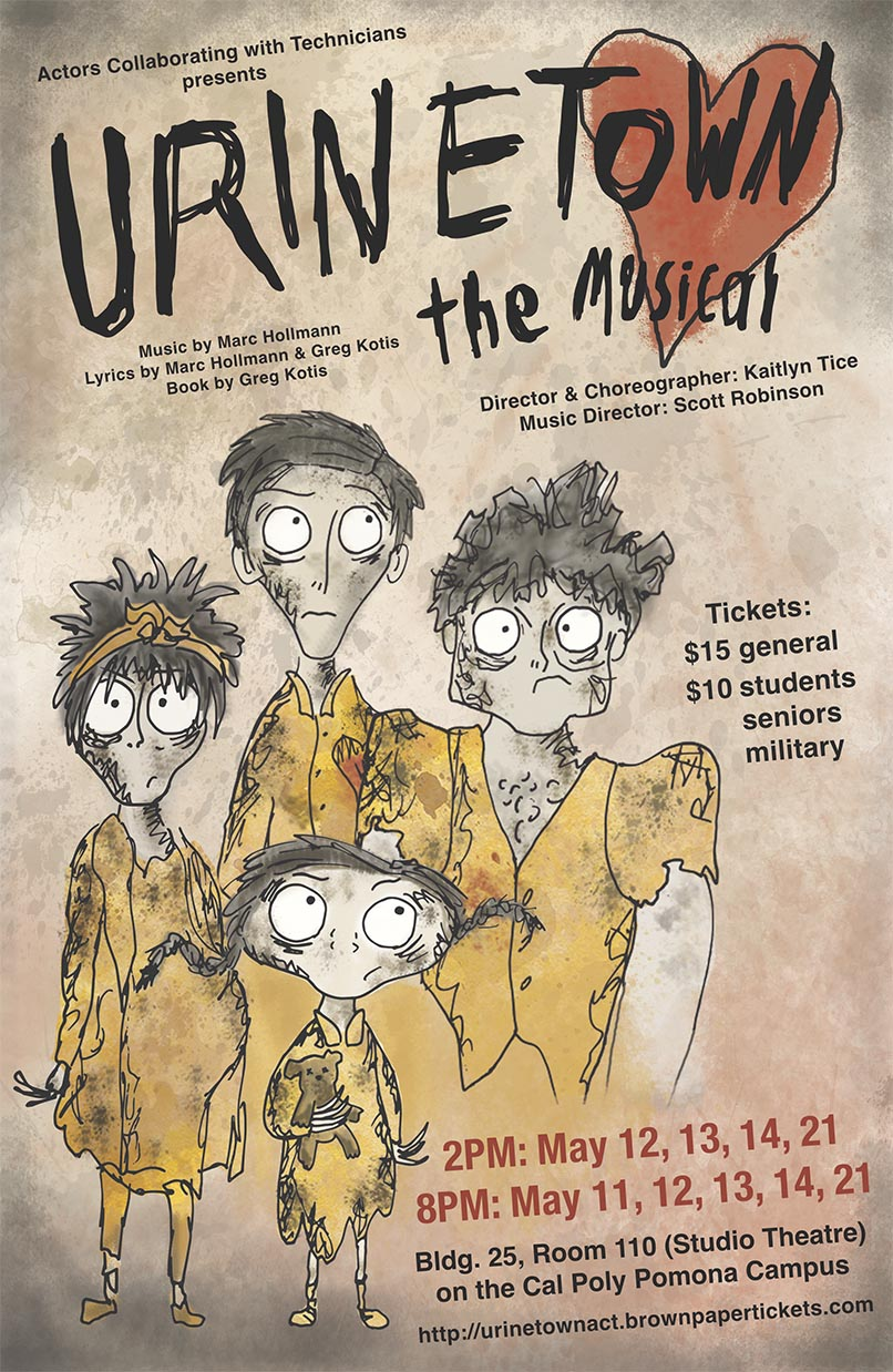 Urinetown the Musical Poster