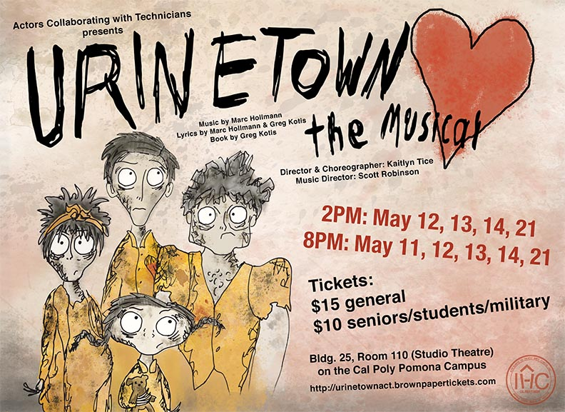 Urinetown the Musical Social Media Ad